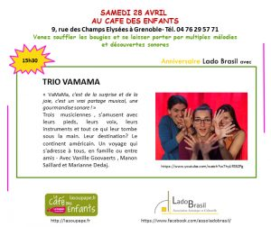 Trio Vamama au Café des Enfants